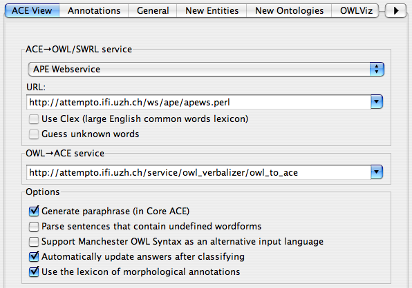 ACE View — a natural language interface to knowledge engineering